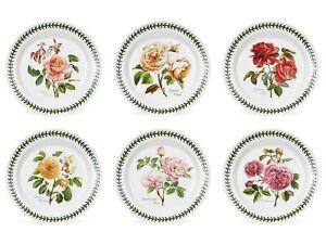 Portmeirion-Botanic-Roses-Set-6-Piatti-Frutta-Dessert-cm-22-Rivenditore