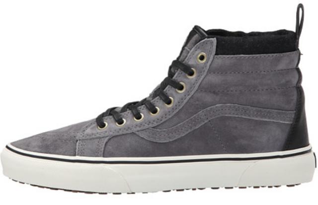 1eb1d7f583e VANS Sk8 Hi MTE Pewter Wool Men s 6.5 Women s 8 Skate Shoes Grey ...
