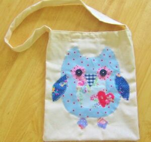 Owl-Bag-Craft-Kit-Sewing-Cath-Kidston-Fabrics-School-Book-PE-Bag-Great-Project