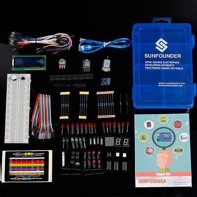 SunFounder Super Starter Kit für Arduino Uno R3 Mega 2560 with Project Book