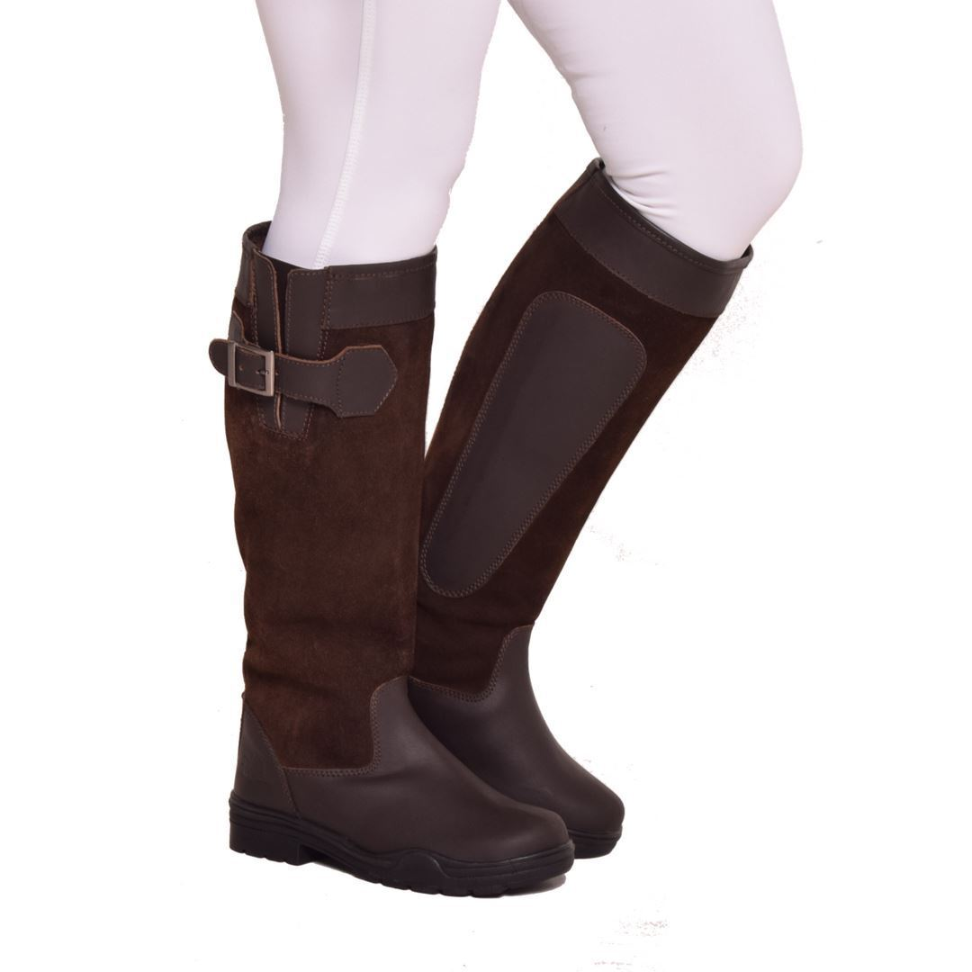 Bow & Arrow Parker Horse Riding Equestrian Outdoor Walking Suede  Country Boots  outlet sale