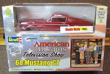 1/25 Revell American Dreams #85-1591 1968 Mustang GT metal body kit MISB