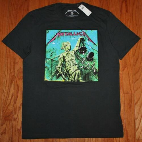 NEW NWT Mens GAP Graphic Tee T-Shirt Metallica .. And Justice For All Album *3S