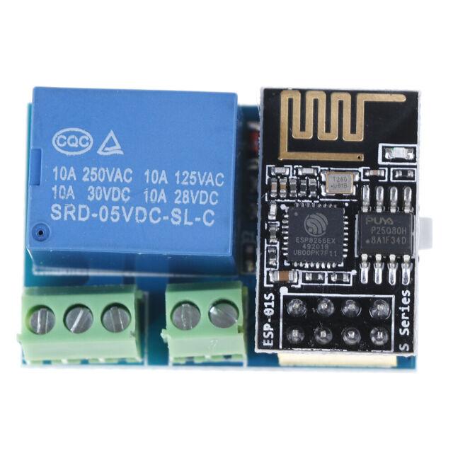5V ESP8266 ESP-01 wifi relay module wireless app remote control relay switch JG