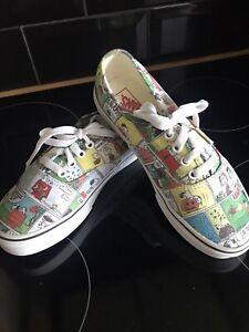 scarpe vans fumetto