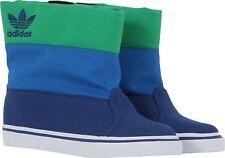 Adidas Originals Kids Unisex Winter Vulc K Primaloft Boot G95304 Blue/Green UK 1