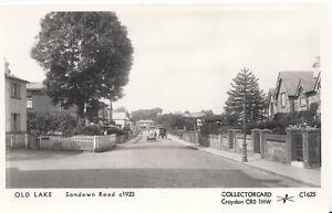 Isle-of-Wight-Postcard-Old-Lake-Sandown-Road-c1923-Pamlin-Print-A5668