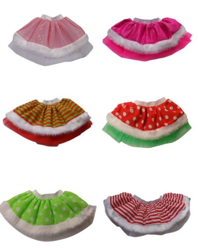 Neon Pink Tutu Skirt 80s Fancy Dress Kids Parties Girls Baby Costumes Sparkle