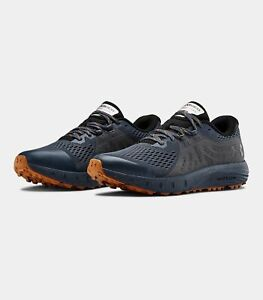 Men-039-s-Under-Armour-UA-Charged-Bandit-Trail-Running-Shoes-Wire-Black-3021951-400