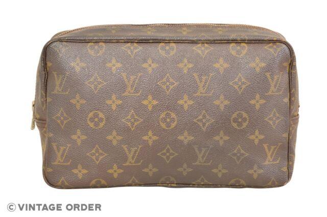 Louis Vuitton Monogram Trousse Toilette 28 Cosmetic Bag Pouch M47522 - YF01050