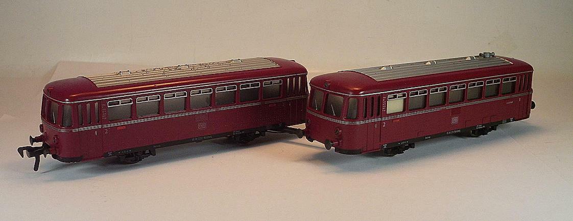 Fleischmann H0 Beiwagen VS 98 zu Dieseltriebzug BR VT 98 der DB 2= OVP  9025