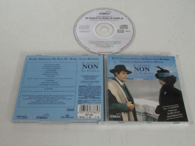 Di Questo Non Si Parla / Soundtrack/Nicola Piovani (Milan 887865) CD Album