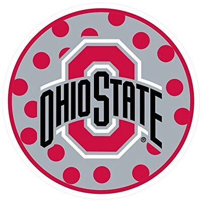 Craftique NCAA Ohio State Buckeyes Premium Vinyl Decal