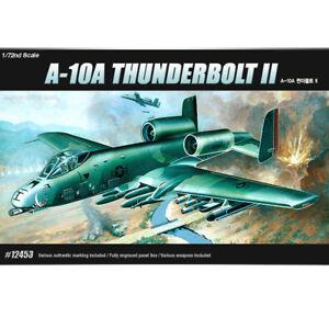 ACADEMY-12453-1-72-Plastic-Model-Kit-USAF-A-10A-Thunder-Bolt-2