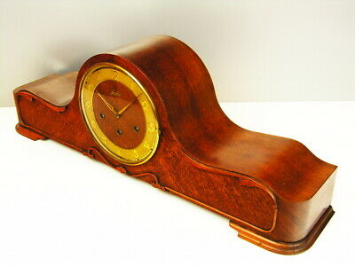 Ausdrucksvoll Junghans Westminster Resonanz Art Deco Kaminuhr Schrankuhr Tischuhr Buffetuhr