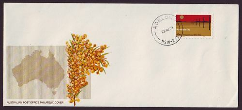 1972 TELEGRAPH FIRST DAY COVER PO WATTLE GENERIC 9X4