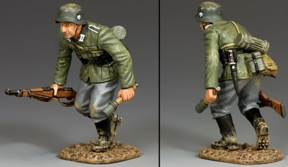 King & Land Ww2 Deutsche Armee Wh038 Laufen Schütze Grenadier MIB