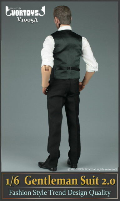 "VORTOYS V1007 1//6 Scale Strong gentleman windbreaker Suit F 12/"" Male Figure Body"