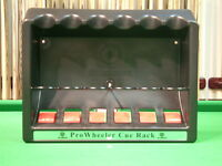 Pro Wheeler Snooker/pool Cue Rack/stand - Can Hold Up To 6 Cues Inc-chalk