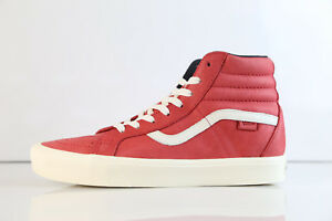 dfc6376470 Vans SK8-Hi Reissue Li Horween Leather Lollipop Red VN0A2Y310NF 8-12 ...