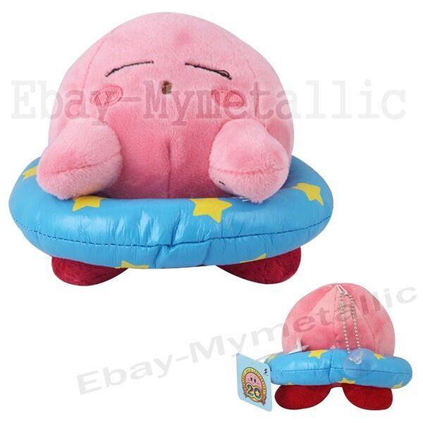 """Lovely Cute Kirby 12cm / 4.8"""" Suction Cup Soft Plush Doll Toy Brand New #04"""