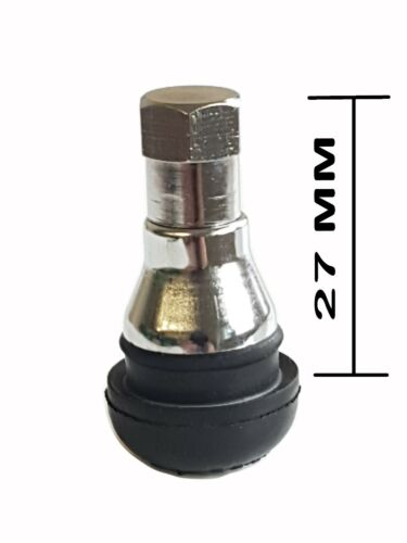 TR412 TUBELESS TYRE VALVE CAR MOTORCYCLE BIKE QUAD ALLOY SCOOTER MOTORBIKE X 2
