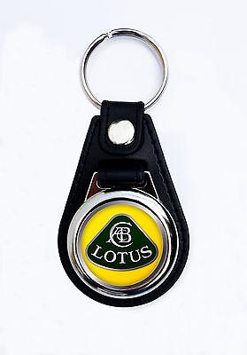 Lotus Cars Leather Keyring Key Holder Sportcars Gift