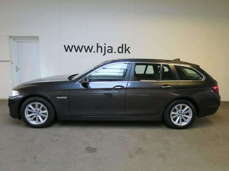 BMW 520d 2,0 Touring aut. Diesel aut. modelår 2015 km 100000