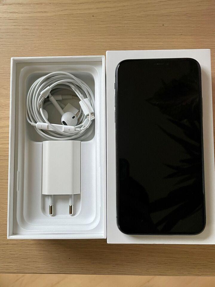 iPhone X, 64 GB, grå