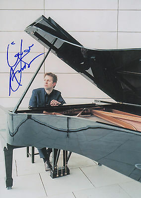 Painstaking Leif Ove Andsnes Signed 8x12 Inch Photo Autograph Top Watermelons Entertainment Memorabilia