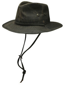 Image is loading Stetson-Diaz-Distressed-Cotton-Western-Hat-Small-to- 09d9378f3e1
