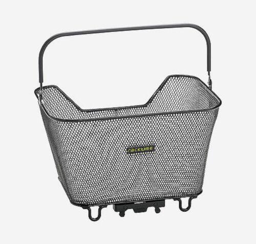 Racktime System Korb Bask-it small Gepäckträgerkorb schwarz für Racktime Träger