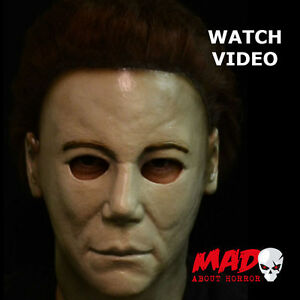 OFFICIAL Michael Myers H20 HALLOWEEN 7 Latex Collectors Mask ...