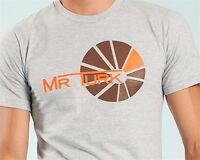 Mr Turk 'sunray (sun Ray)' Men's Graphic Designer T-shirt S Heather Gray