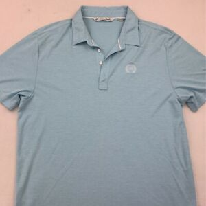 Travis-Mathew-Mens-Polo-Shirt-Blue-Saturday-Team-Pima-Cotton-Blend-Top-XXL