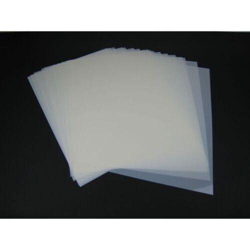 Mylar Schablonen Material 50Stück DIN A3 Folie Mylarfolie 8,02€//1qm