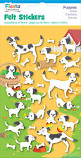 Puppies Dog Doggies Felt Stickers Sticker Pack Kit Set - Fiesta Crafts