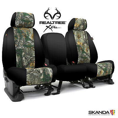 2016 Toyota Tacoma Seat Covers >> 2016-2020 Toyota Tacoma Double Cab Seat Covers - Coverking Realtree Xtra - F&R | eBay