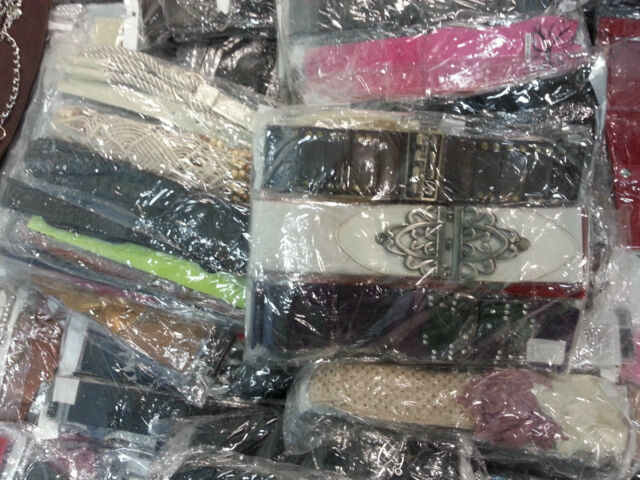 100 Colourful Belts For Women *Amazing Market Stock - 1000's in stock wholesale