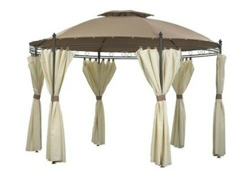 CURTAIN SET ONLY for Garden Nation CAM0575 3m Regency Superior Patio Gazebo