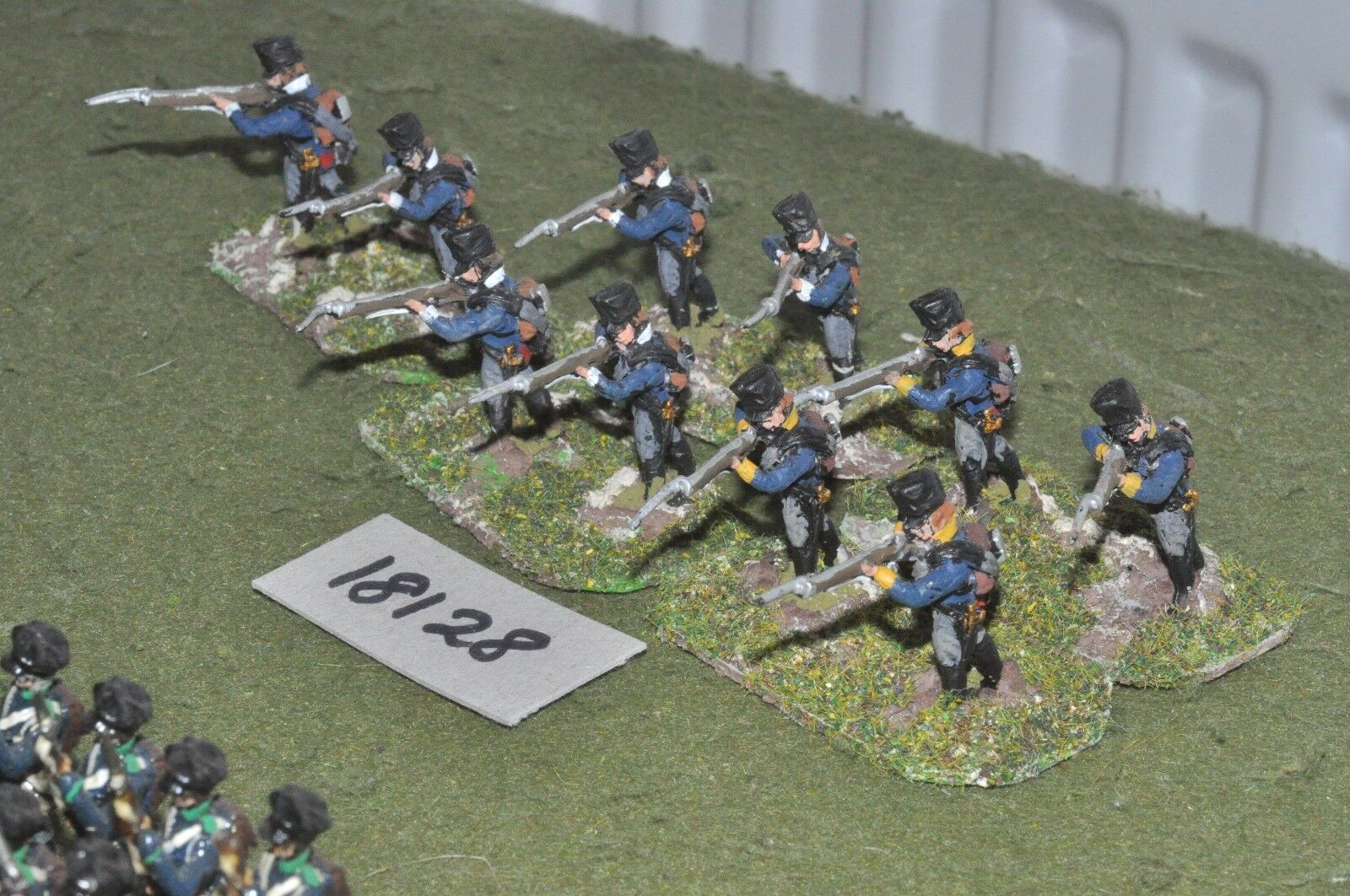 25mm napoleonic   prussian - infantry 10 figs - inf (18128)