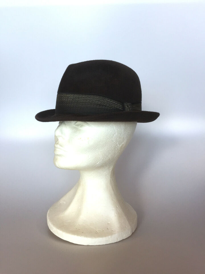 Vintage Dunn & Co trilby hat