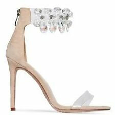 08c8685e70f7 item 8 WOMENS LADIES DIAMOND CRYSTAL CLEAR ANKLE STRAP PEEP TOE PARTY  EVENING SANDAL -WOMENS LADIES DIAMOND CRYSTAL CLEAR ANKLE STRAP PEEP TOE  PARTY EVENING ...