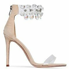 cd09e8370d51 Image is loading WOMENS-LADIES-DIAMOND-CRYSTAL-CLEAR-ANKLE-STRAP-PEEP-