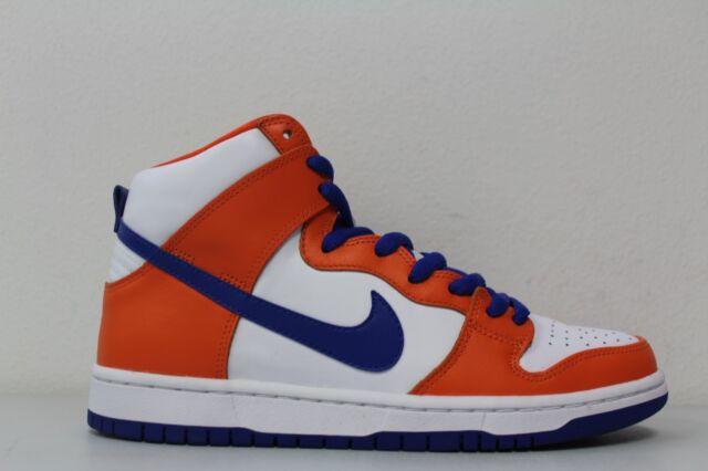 2ae2d5bdaded Nike Mens SB Dunk High TRD QS Danny Supa Safety Orange Blue AH0471 841 Size  11.5