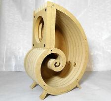 "Spiral speaker boxes for 4"" fullrange driver, DIY kit, Snail, 4 liters"