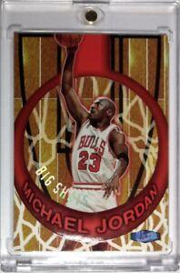 1997-97-ULTRA-Michael-Jordan-BIG-SHOTS-1-Rare-Embossed-MJ-Insert-Bulls-HOF