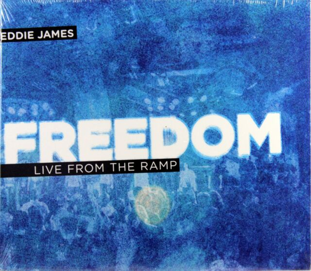 Eddie James Freedom Live From The Ramp NEW CD Bonus CD Christian Gospel Music