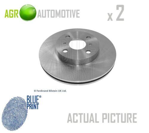 2 x BLUE PRINT FRONT BRAKE DISCS SET BRAKING DISCS PAIR OE REPLACEMENT ADT34370