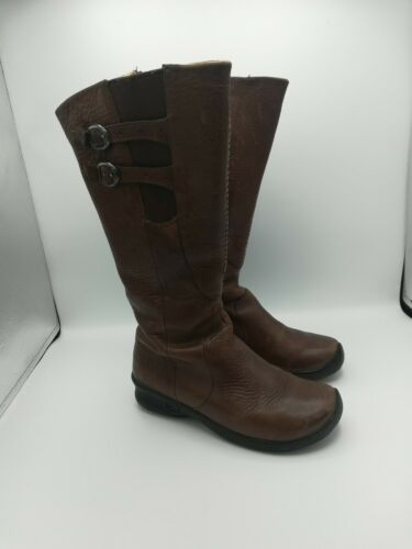 Keen Bern Baby Bern  Brown Leather Tall Boots - 54
